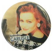 Belinda Carlisle - 'Hood' Button Badge